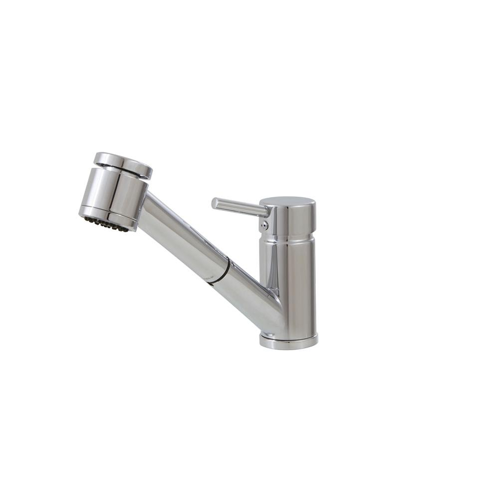Aquabrass Pull Out Faucet Kitchen Faucets item ABFK20343PC