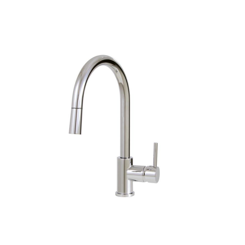 Aquabrass Pull Down Faucet Kitchen Faucets item ABFK3345NBN