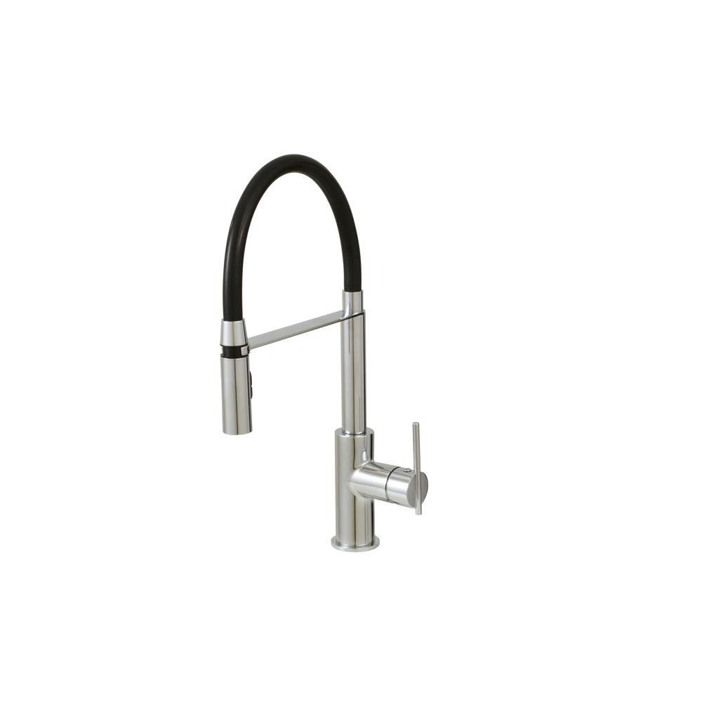Aquabrass Articulating Kitchen Faucets item ABFK3745NBN