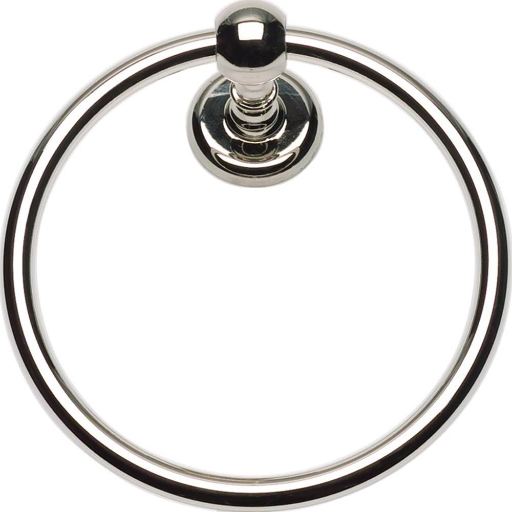 Atlas Towel Rings Bathroom Accessories item EMMTR-PN