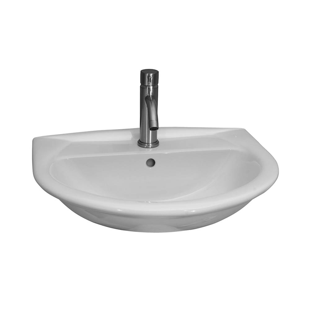 Barclay Wall Mount Bathroom Sinks item 4-834WH