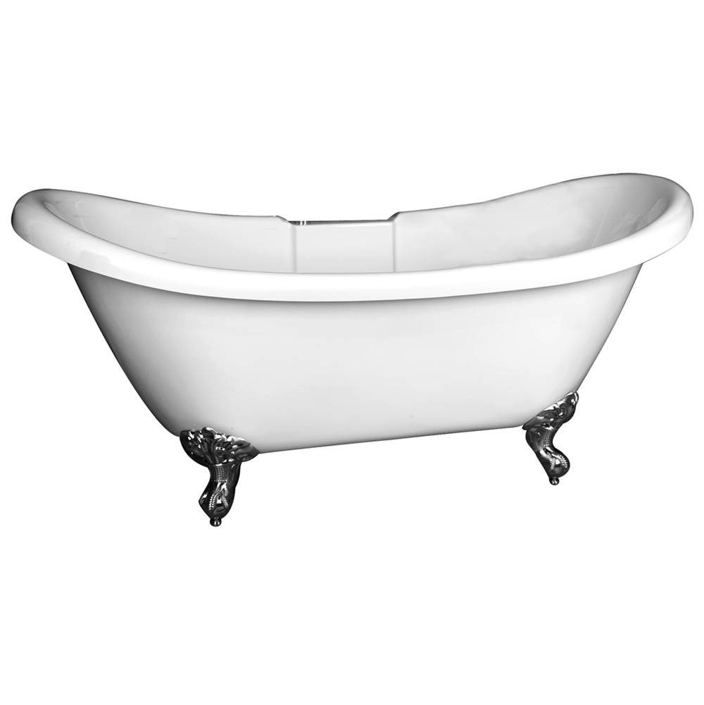 Barclay Clawfoot Soaking Tubs item ADSNTD63I-WHORB