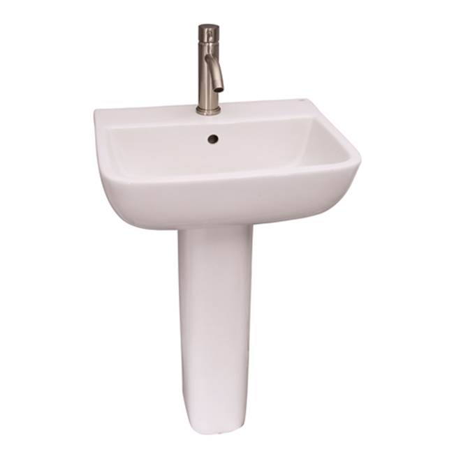 Barclay Complete Pedestal Bathroom Sinks item 3-218WH