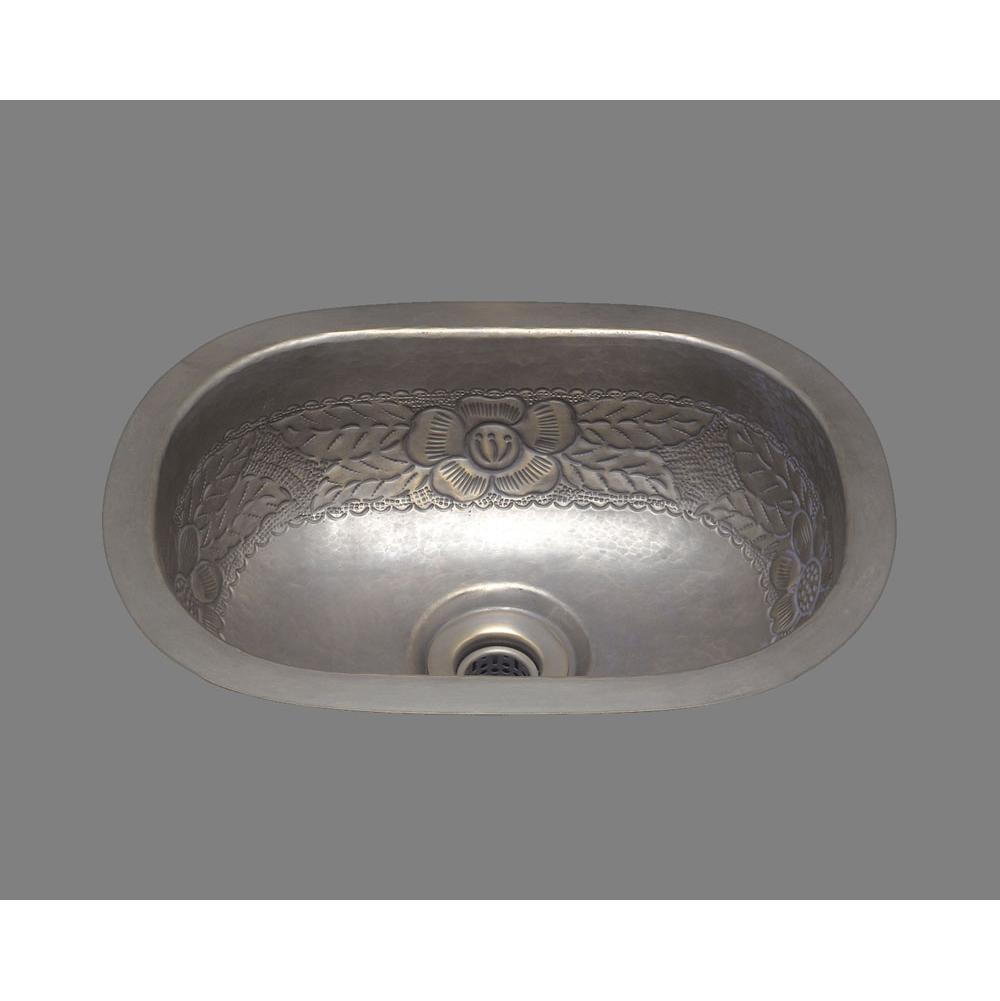 Merveilleux CP   Small Roval Bar Sink, Hammertone Pattern, Undermount U0026 Drop In