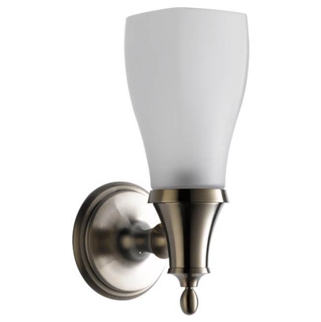 Brizo One Light Vanity Bathroom Lights item 697085-BN