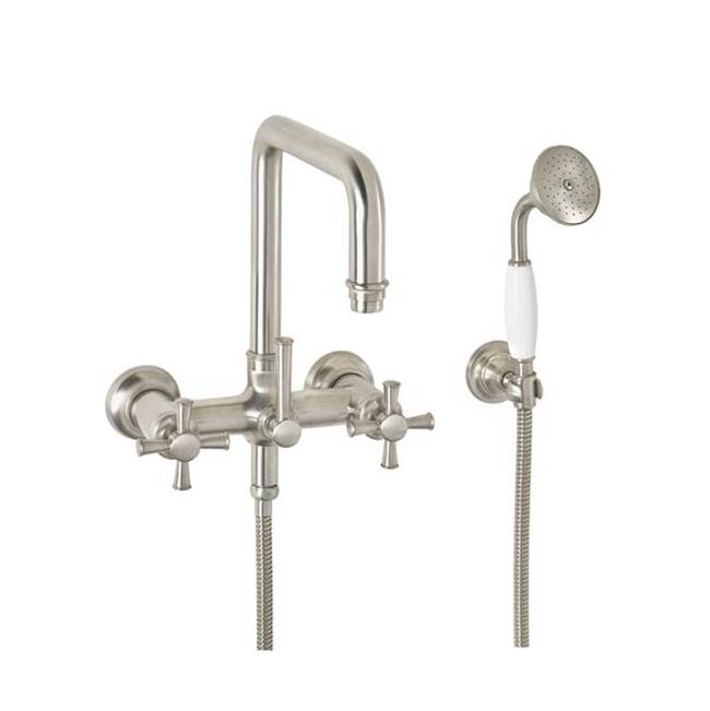California Faucets Wall Mount Tub Fillers item 1406-46.20-BNU