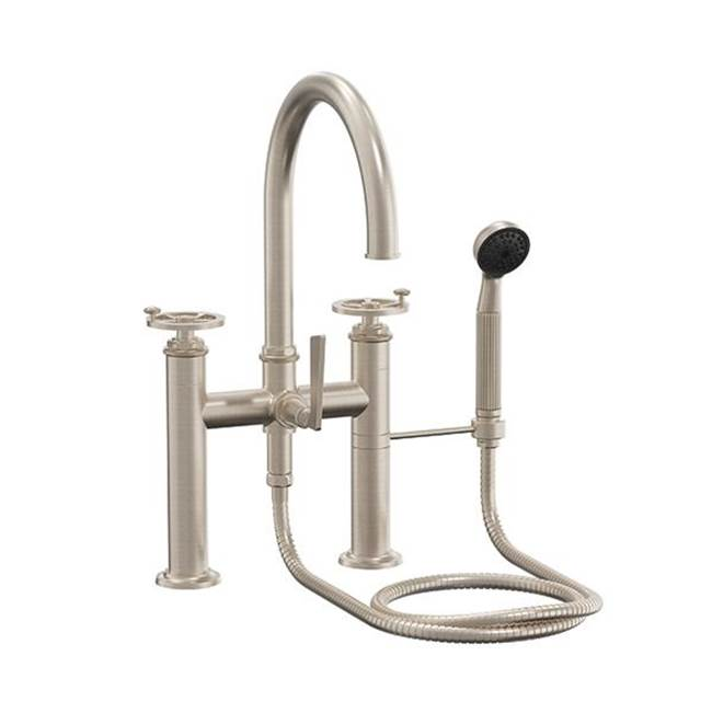 California Faucets Deck Mount Tub Fillers item 8608B-ETD.FR-ABF