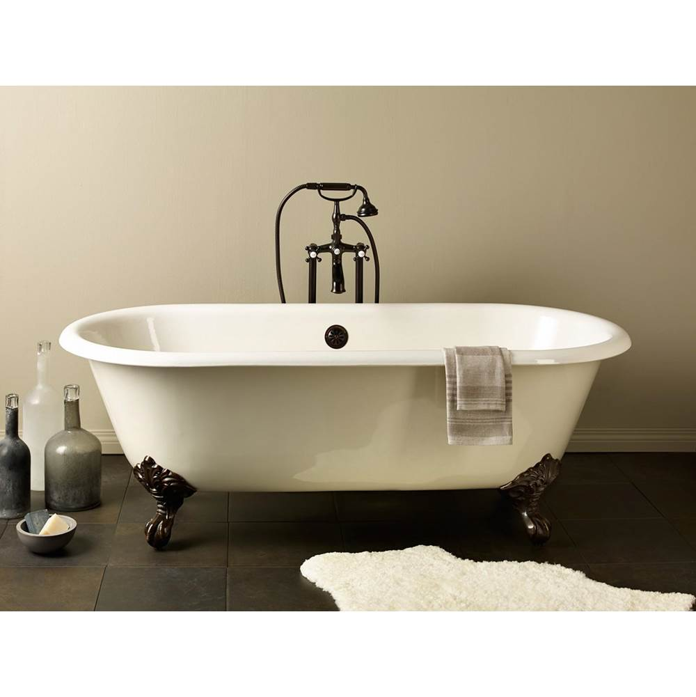 Cheviot Products Clawfoot Soaking Tubs item 2126-BB-6-CH