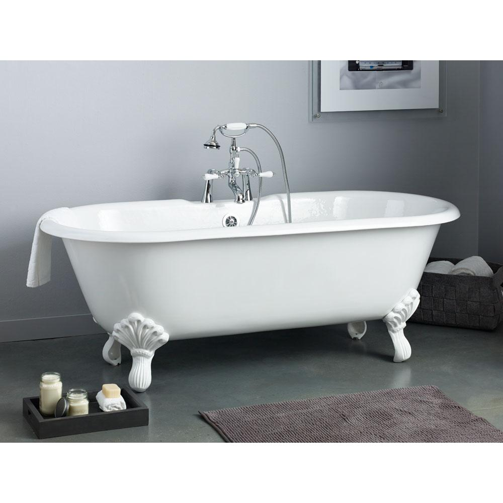 Cheviot Products Clawfoot Soaking Tubs item 2168-WC-8-WH