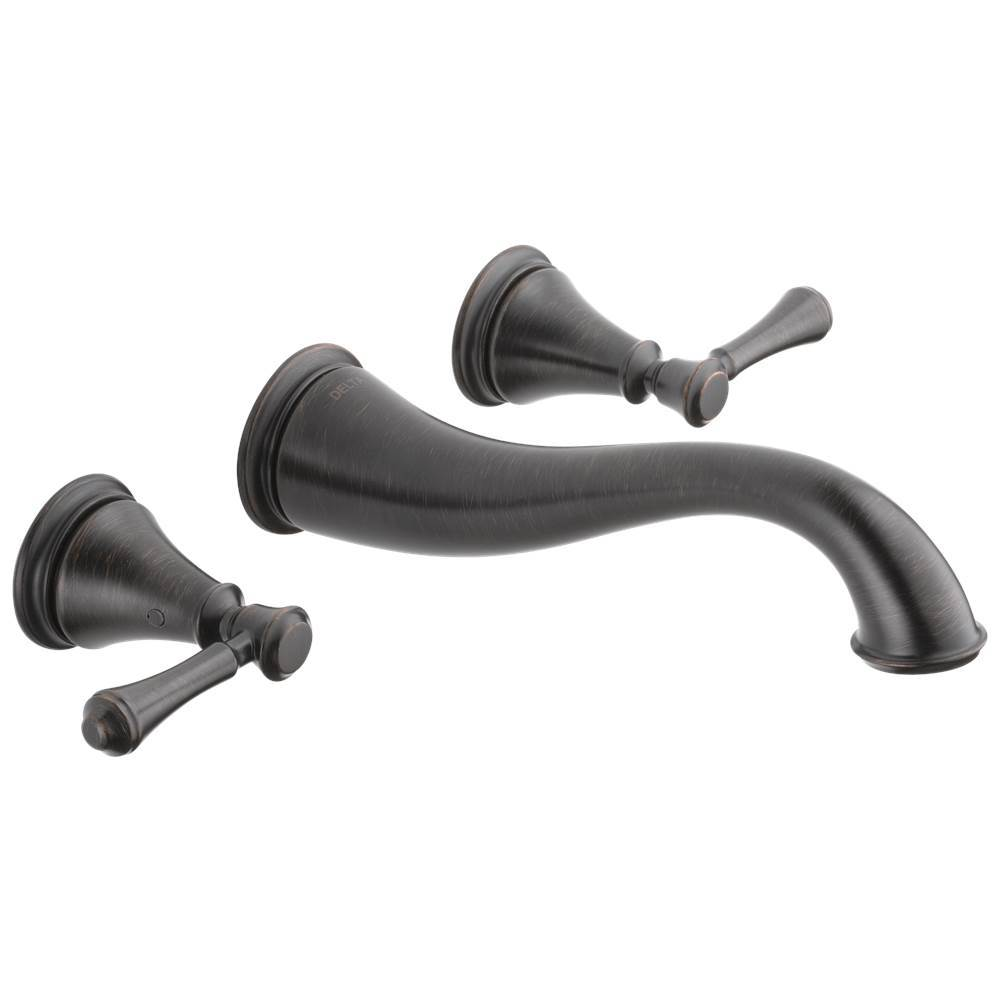 Delta Faucet Wall Mounted Bathroom Sink Faucets item T3597LF-RBWL