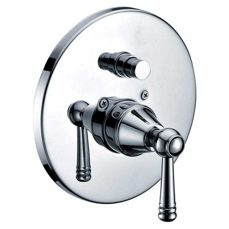 Dawn Pressure Balance Trims With Integrated Diverter Shower Faucet Trims item D2225601C