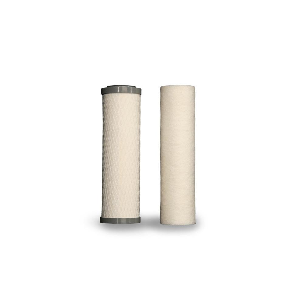 Environmental Water Systems Replacement Water Filters Under Sink Water Filtration item SET.UU250-2.PIN