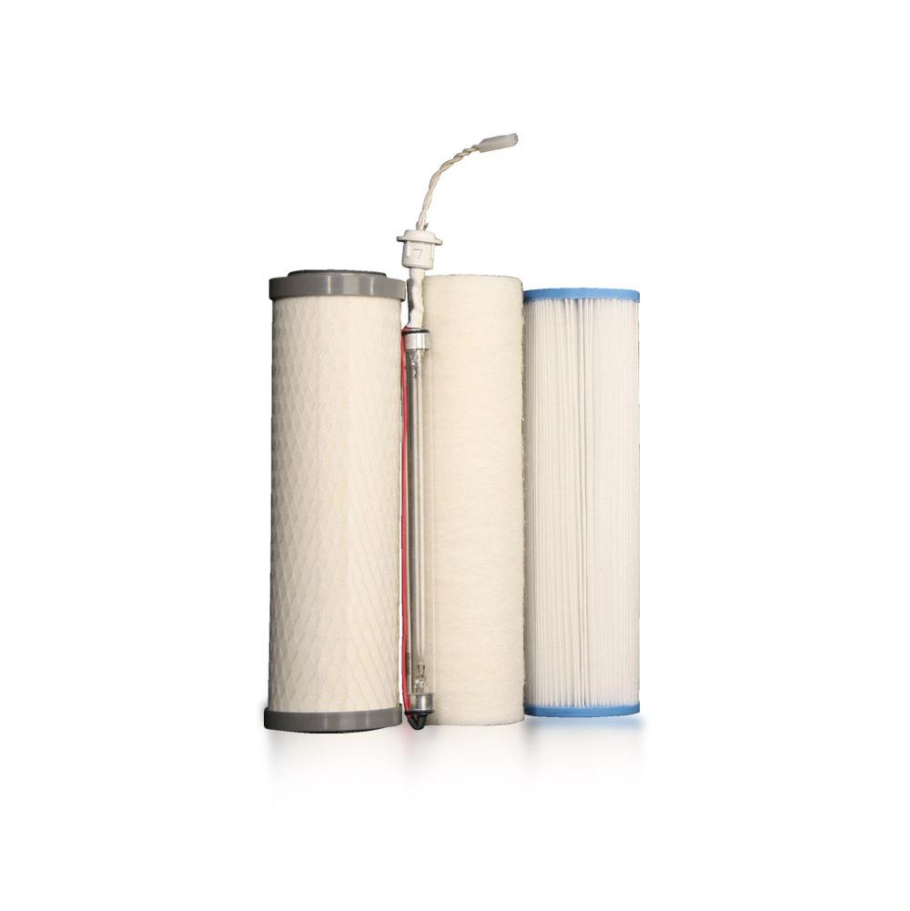 Environmental Water Systems Replacement Water Filters Under Sink Water Filtration item SET.UU350-4.PIN