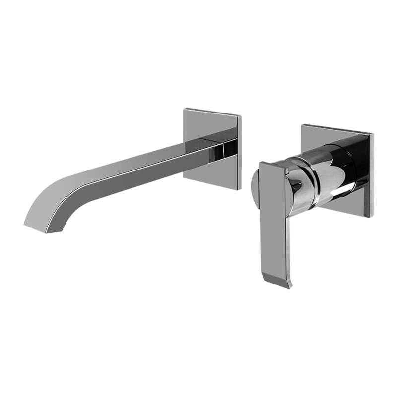 Graff Wall Mounted Bathroom Sink Faucets item G-6235-LM38W-SN