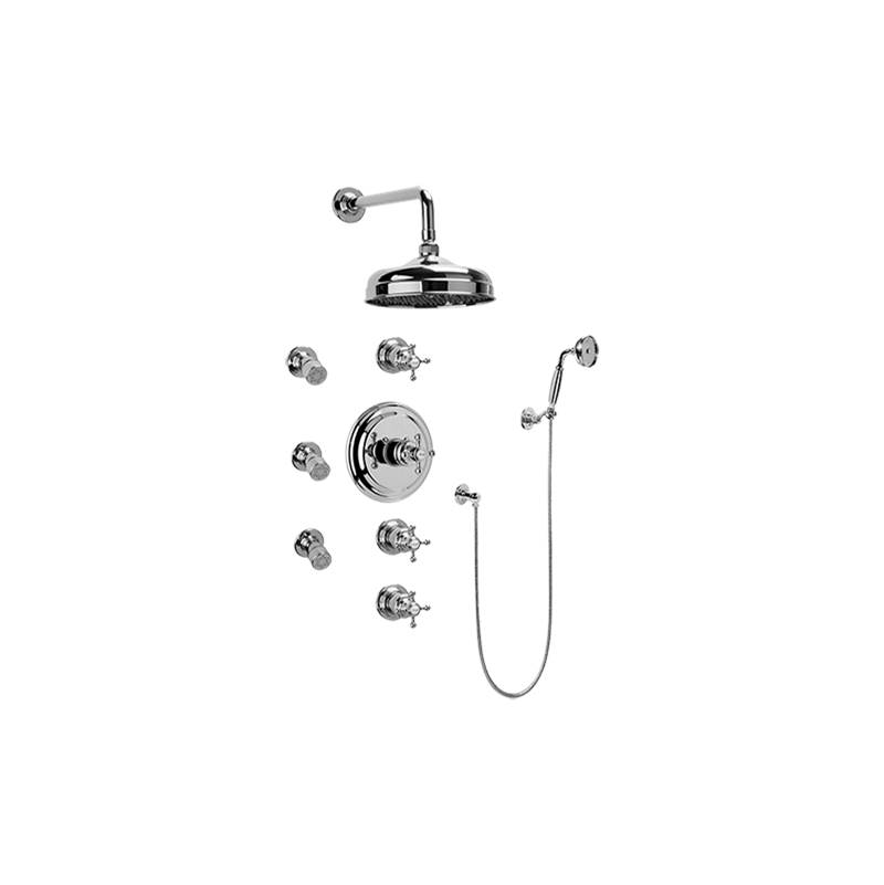Graff Complete Systems Shower Systems item GA1.222B-C2S-PC-T