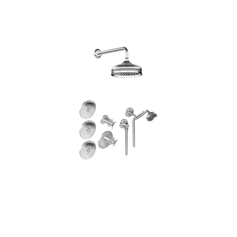 Graff Diverter Trims Shower Components item GS2.122SG-C2E0-VBB-T