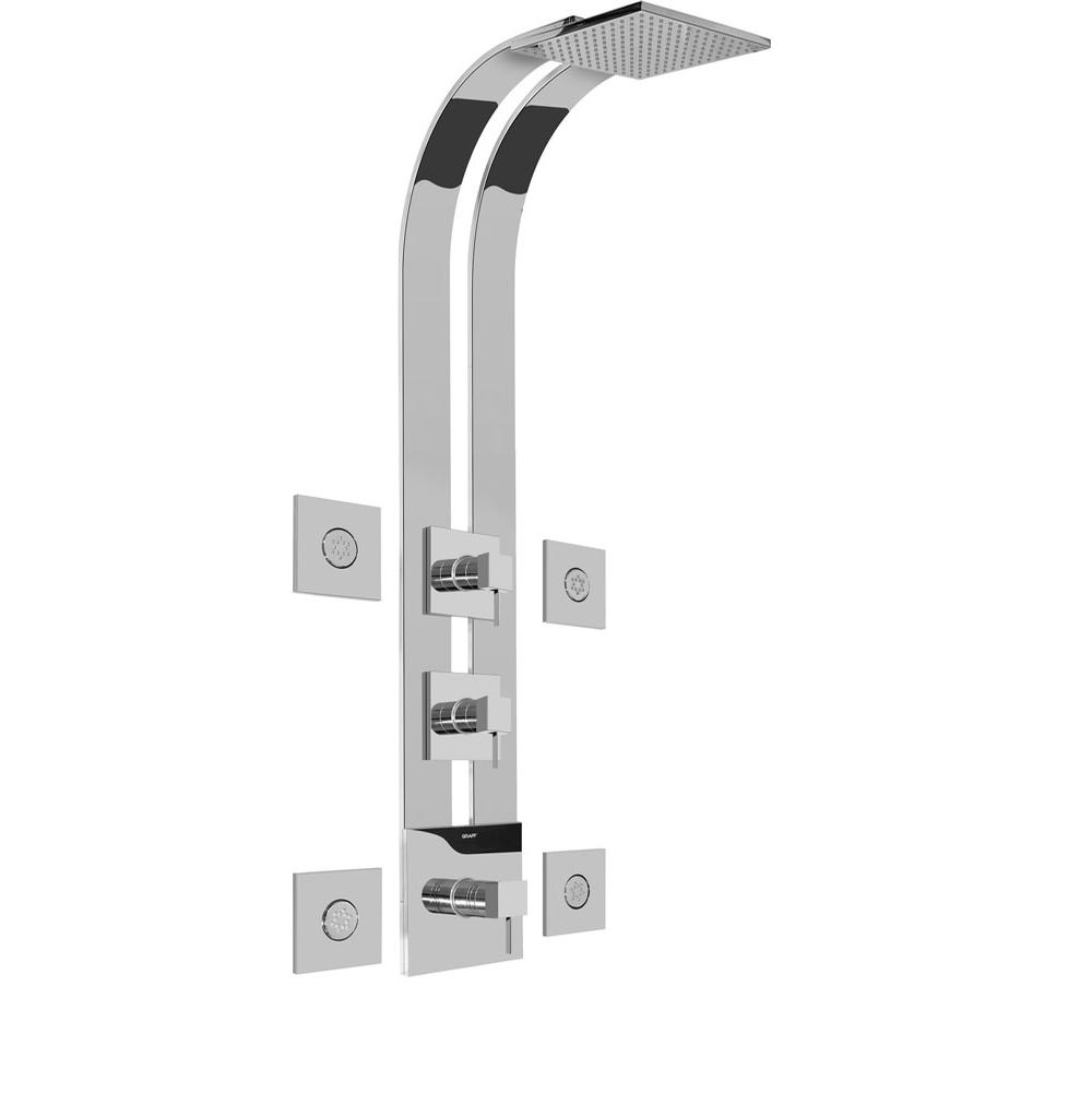 Graff Complete Systems Shower Systems item GE3.100A-LM39S-PC
