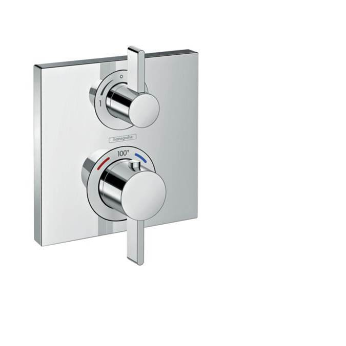 Hansgrohe Thermostatic Valve Trims With Integrated Diverter Shower Faucet Trims item 15714001