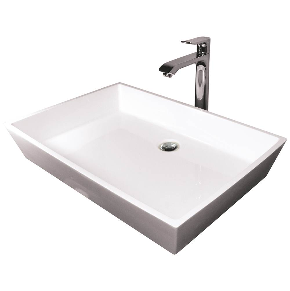 Hydro Systems Lavatory Console Bathroom Sinks item BLO2518SSS-ALM