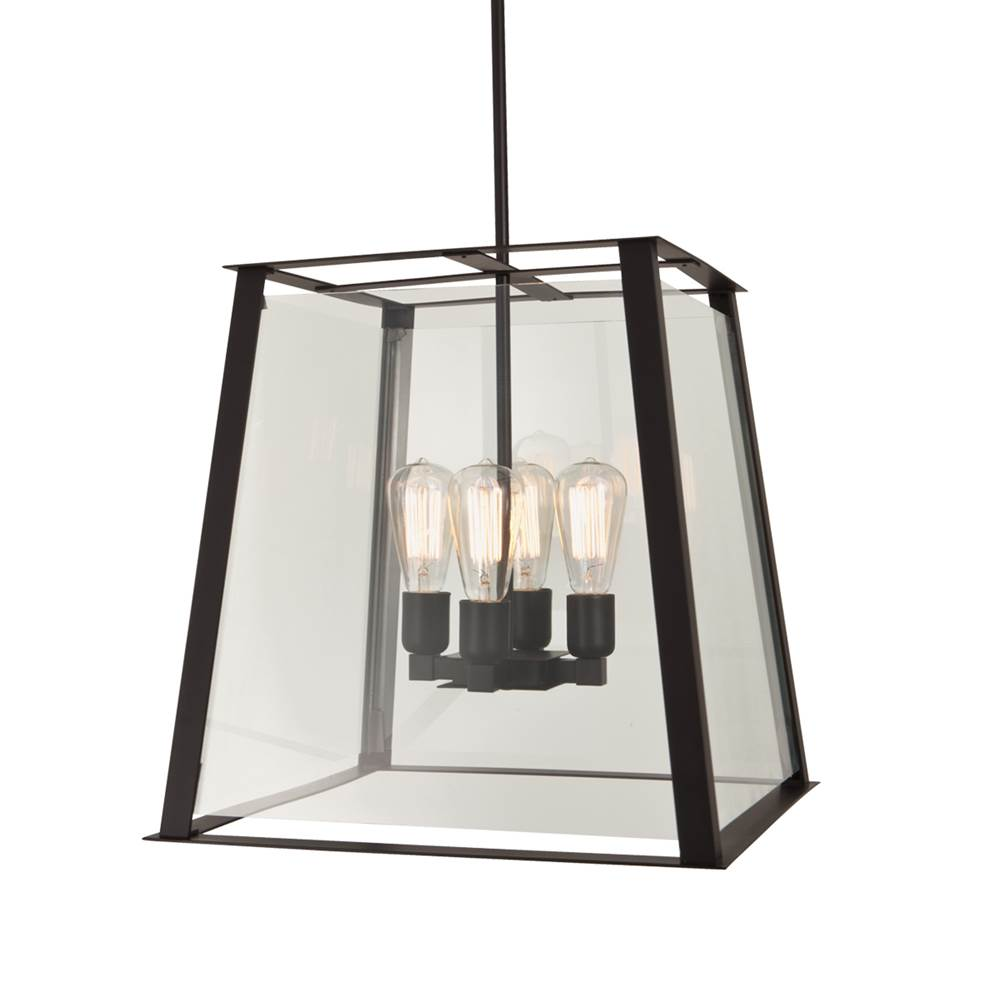 Ilex Lanterns Outdoor Lights item GEO18-TU-SE-ABPC-IN