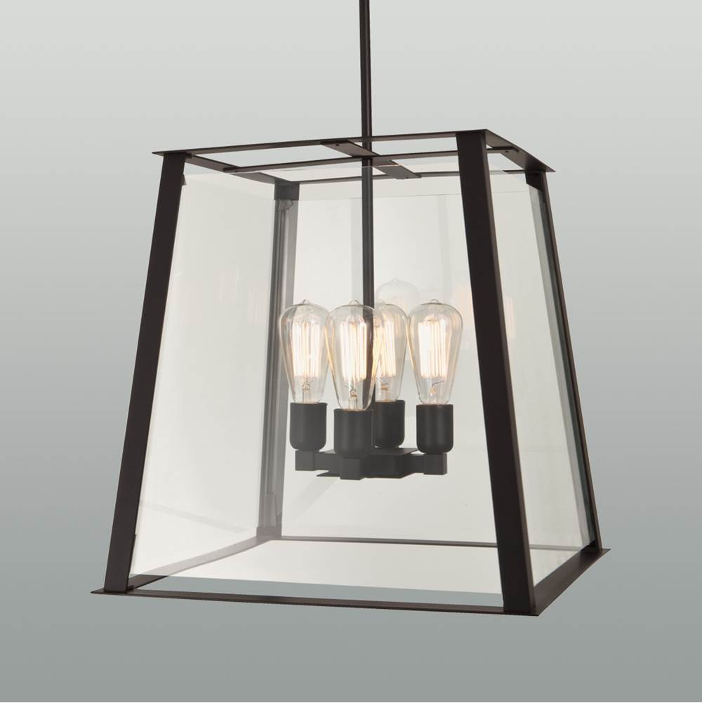 Ilex Lanterns Outdoor Lights item GEO18-TU-CL-MB-IN