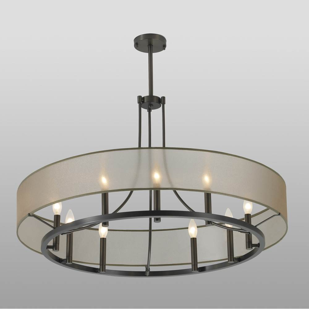 Ilex  Chandeliers item GHO48-TU-OZ-SB-IN