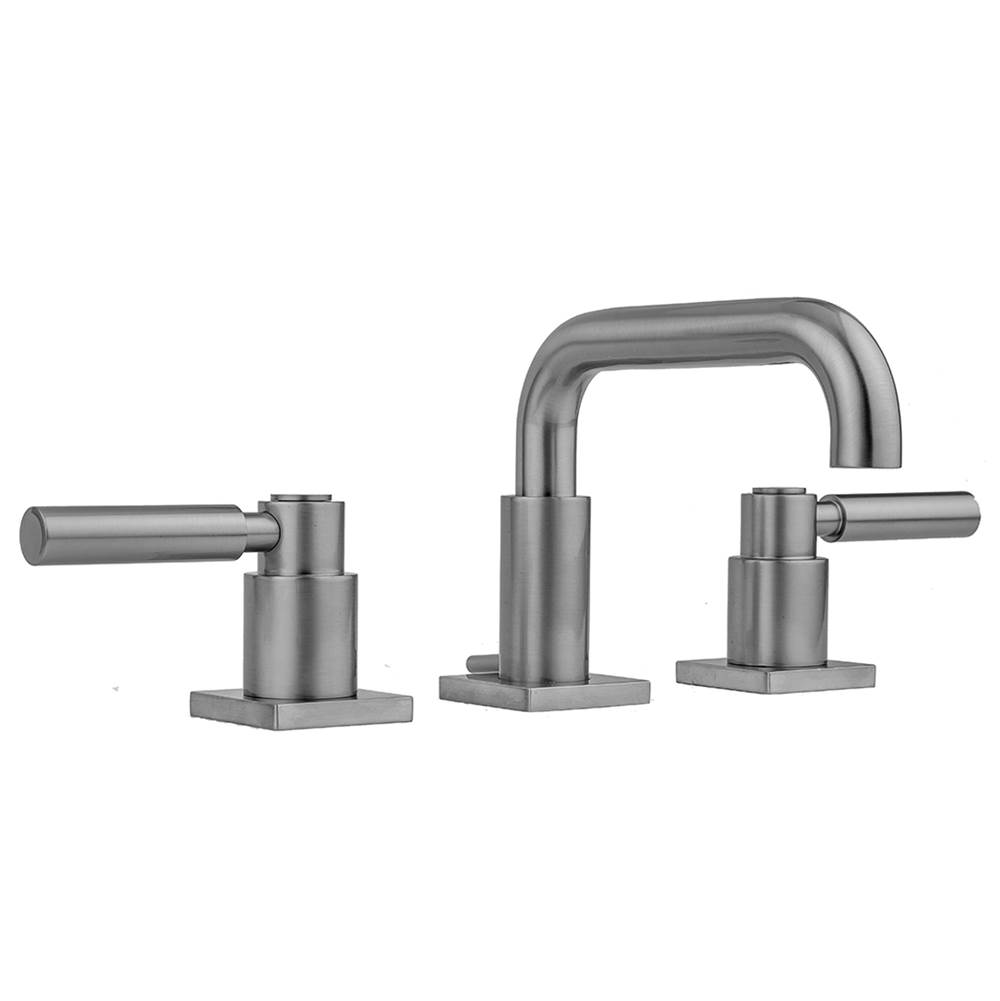 Jaclo Widespread Bathroom Sink Faucets item 8883-SQL-PEW