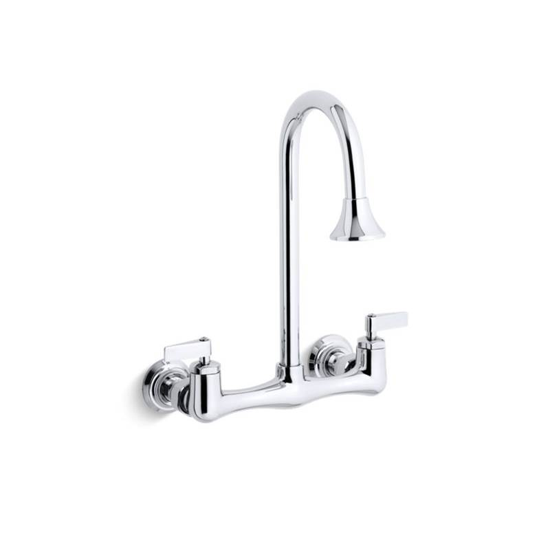 Kohler Wall Mount Laundry Sink Faucets item 7319-4-CP