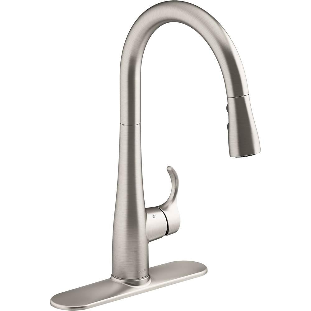 Kohler Kitchen Faucets Pull Down Faucet Steel Decorative