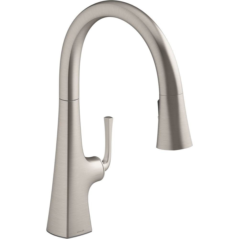 Kohler Kitchen Faucets Pull Down Faucet Steel | Decorative ...