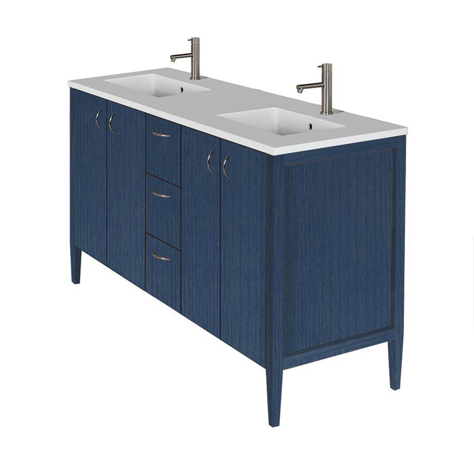 Lacava Wall Mount Vanities Double Sink item LRS-F-60A-50