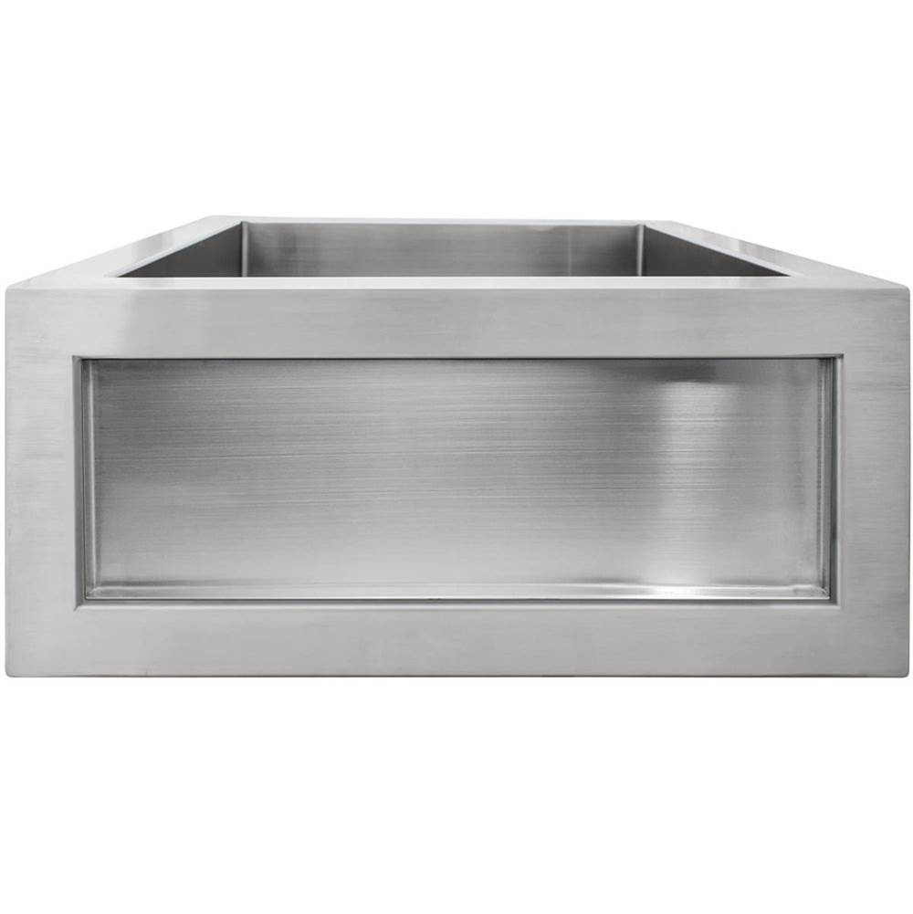 Linkasink Self Trimming Kitchen Sinks item C073-3.5 SS
