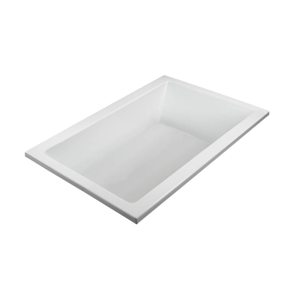 MTI Baths Undermount Soaking Tubs item MBSCR7242WHUM