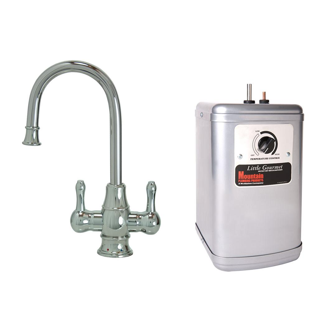 Mountain Plumbing Hot And Cold Water Faucets Water Dispensers item MT1851DIY-NL/PVDPN