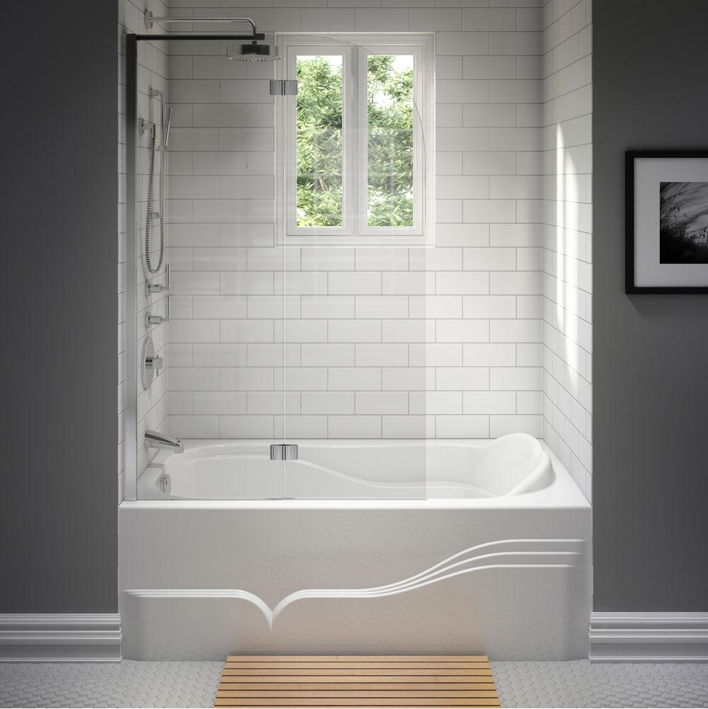 Neptune Three Wall Alcove Whirlpool Bathtubs item 15.11412.500030.10