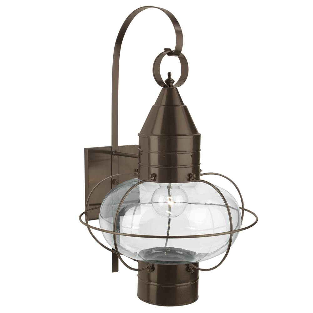 Norwell Wall Lanterns Outdoor Lights item 1509-BR-CL