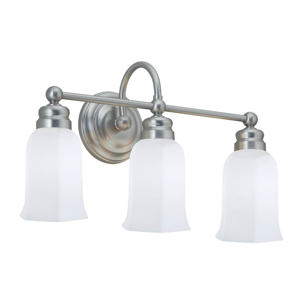 Norwell Three Light Vanity Bathroom Lights item 8913-BN-HXO