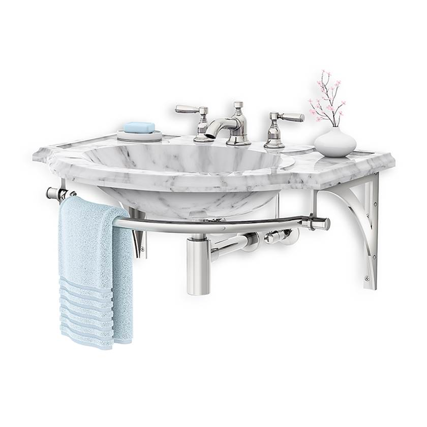 Palmer Industries   WBR   Vanity Sink Legs