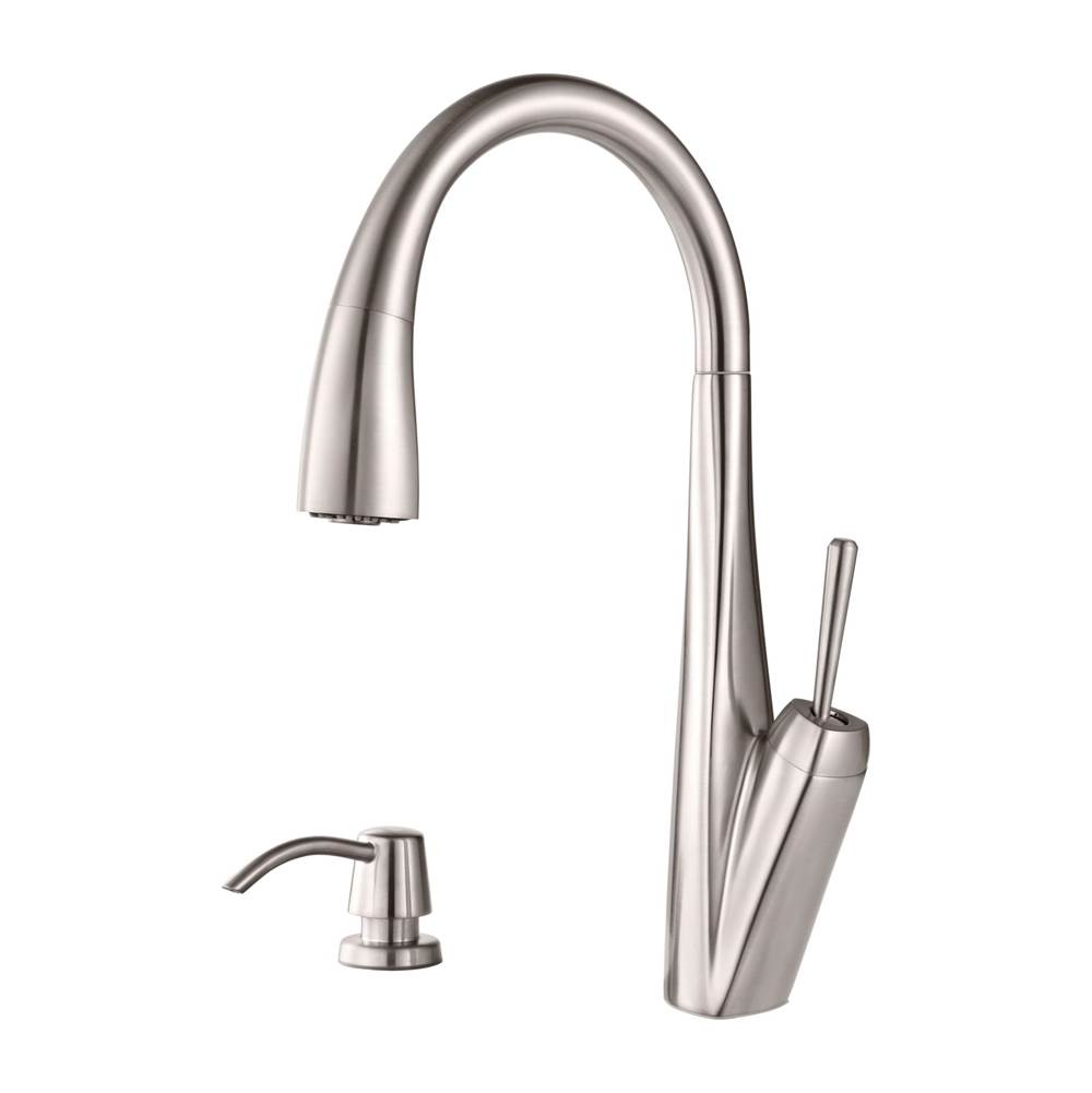 Pfister Single Hole Kitchen Faucets item GT529-MPS