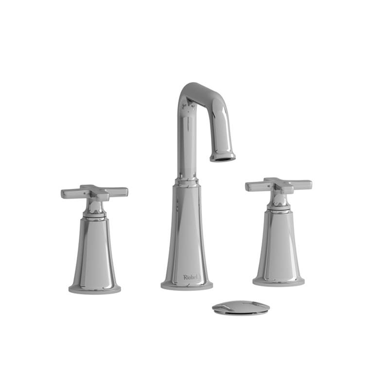 Riobel Widespread Bathroom Sink Faucets item MMSQ08XPNBK-10