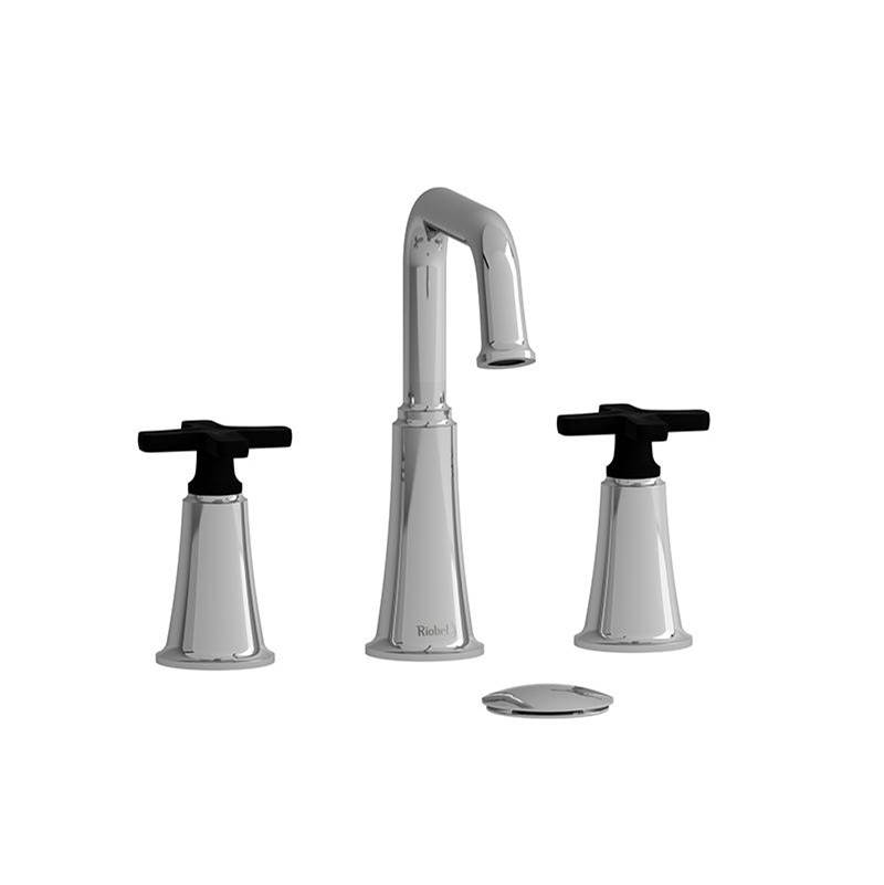Riobel Widespread Bathroom Sink Faucets item MMSQ08XCBK-10