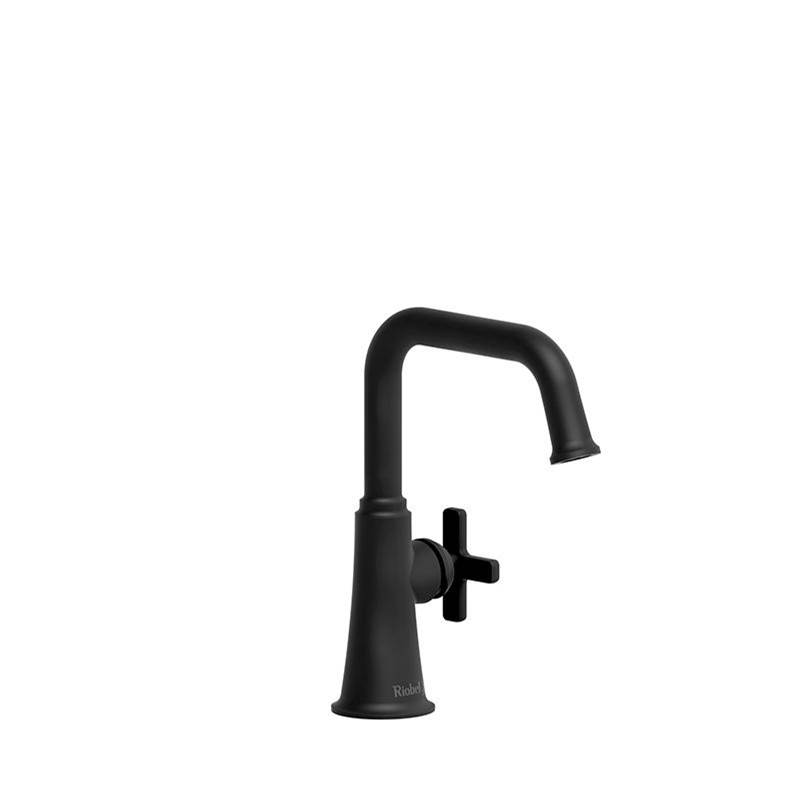 Riobel Single Hole Bathroom Sink Faucets item MMSQS00XBK-10