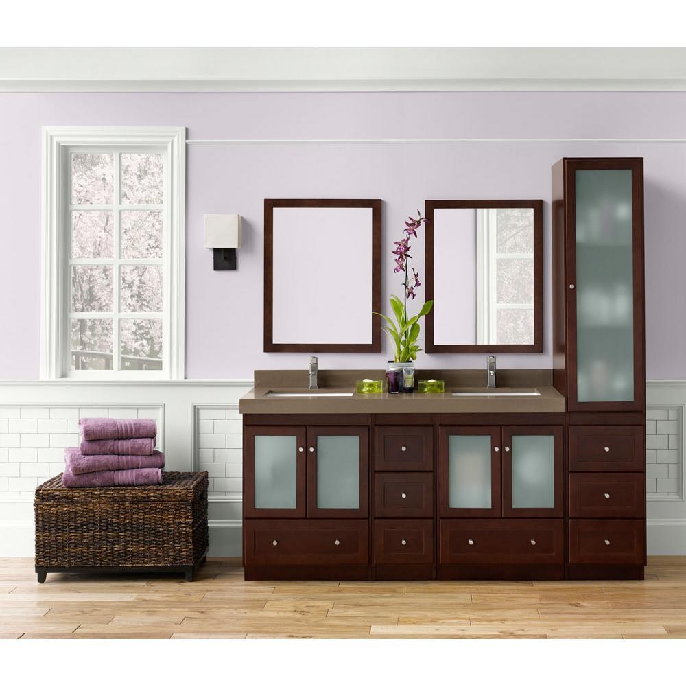 Bathroom Vanities Transitional White | Decorative Plumbing Supply ...