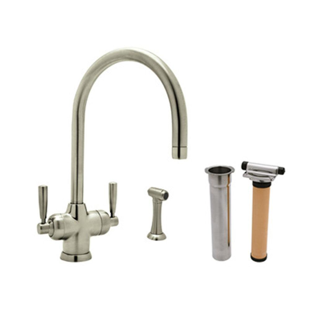 Rohl Deck Mount Kitchen Faucets item U.KIT1535LS-STN-2