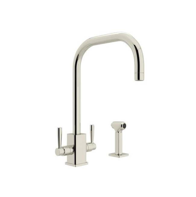 Rohl Deck Mount Kitchen Faucets item U.4310LS-PN-2
