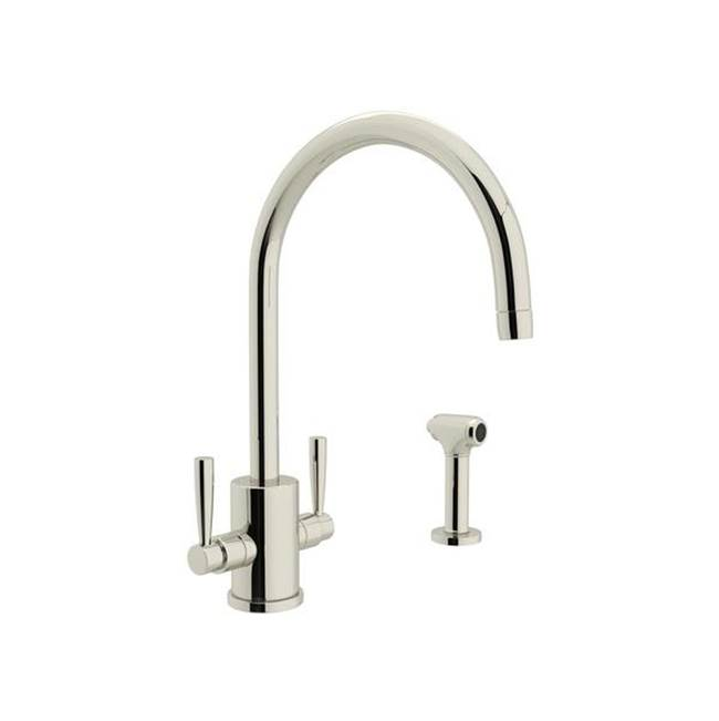 Rohl Deck Mount Kitchen Faucets item U.4312LS-PN-2