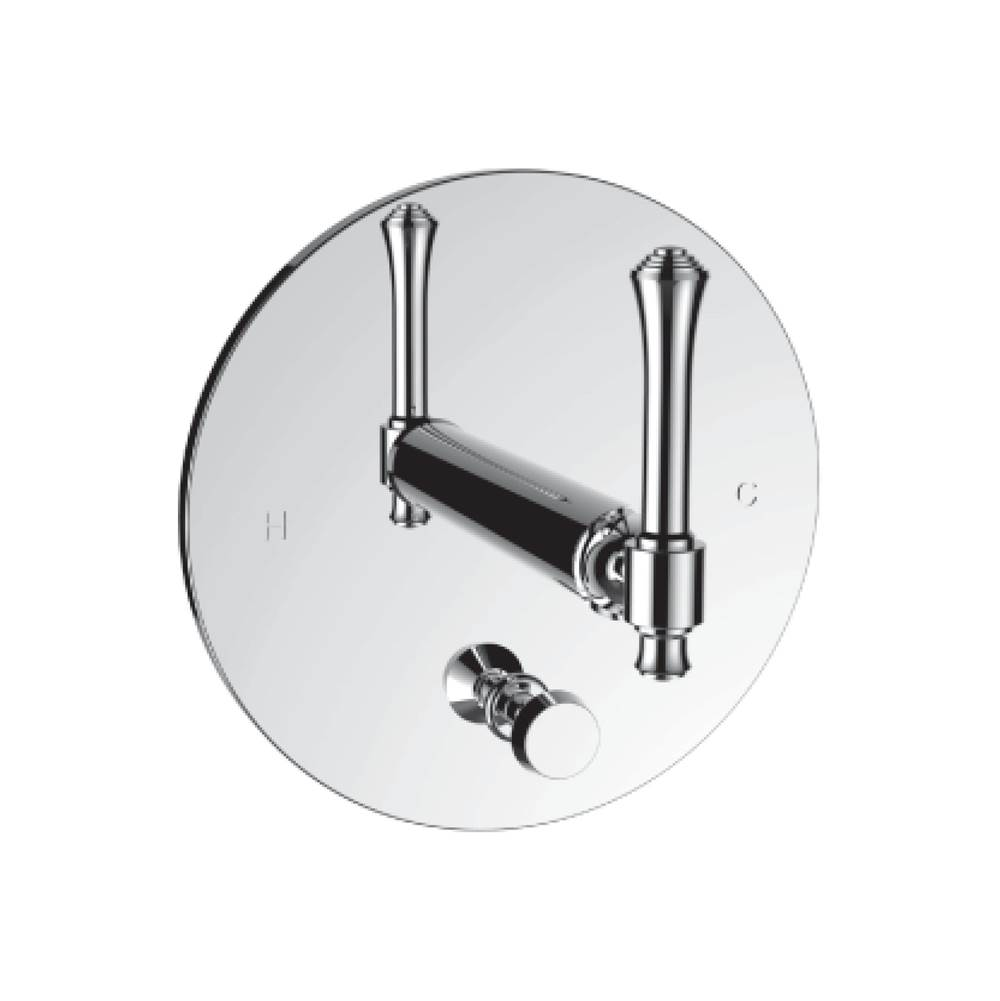 Santec Pressure Balance Trims With Integrated Diverter Shower Faucet Trims item 4535PI49-TM