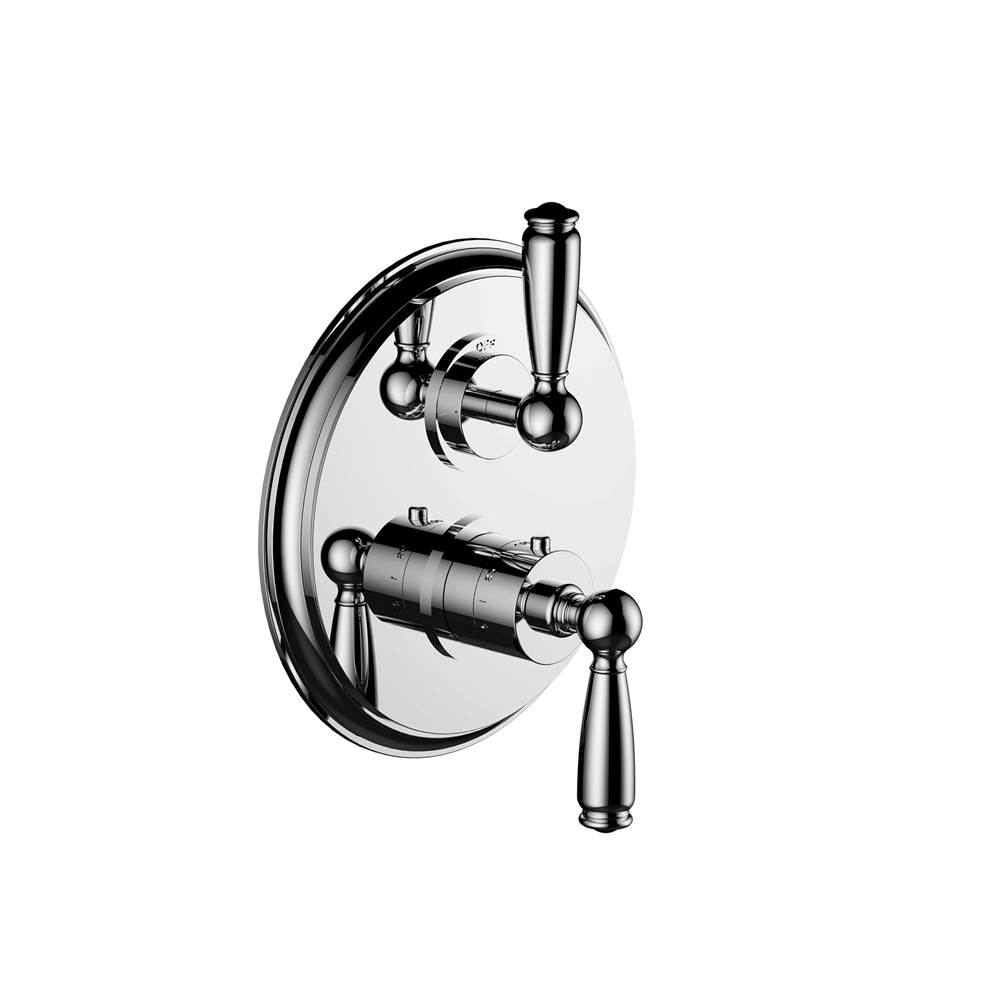 Santec Thermostatic Valve Trims With Integrated Diverter Shower Faucet Trims item 7096ET25-TM