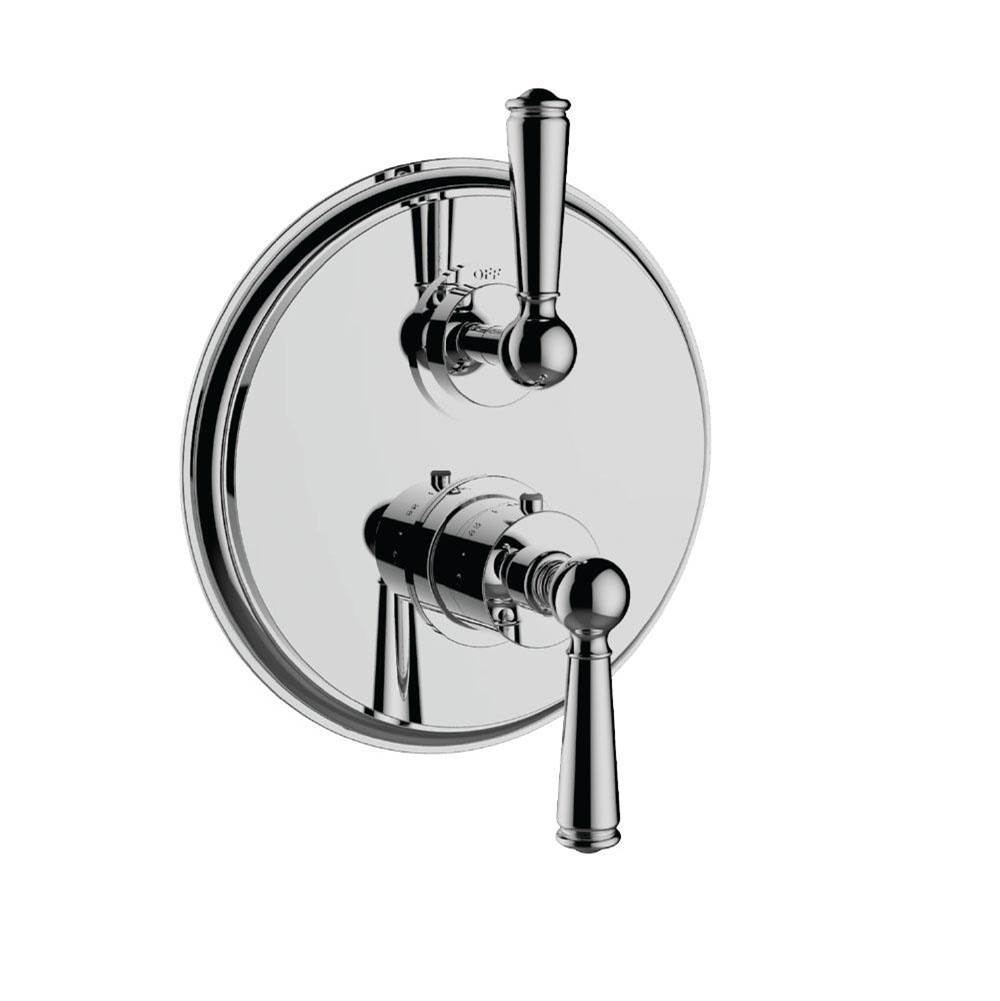 Santec Thermostatic Valve Trims With Integrated Diverter Shower Faucet Trims item 7097EP25-TM