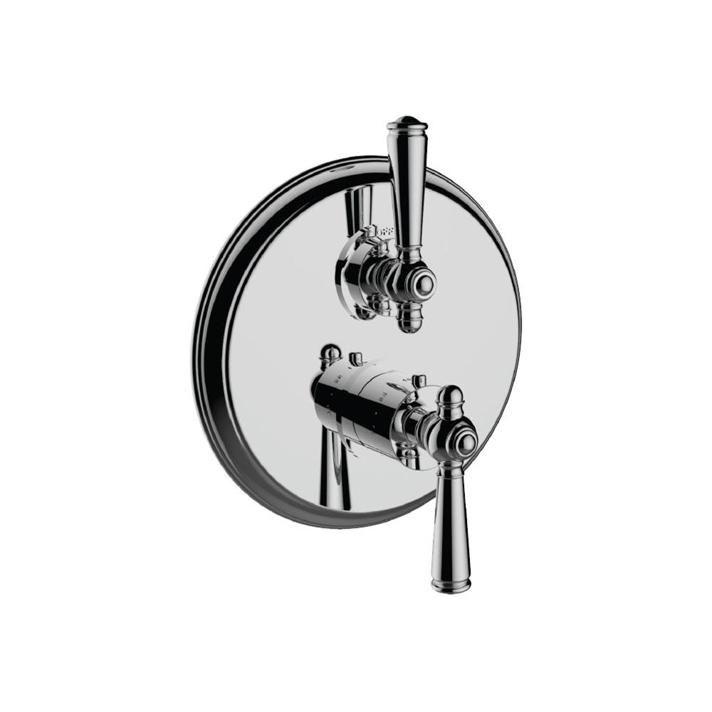 Santec Thermostatic Valve Trims With Integrated Diverter Shower Faucet Trims item 7097JP47-TM
